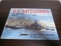 U.S.BATTLESHIPS in action part2 (米戦艦写真集)