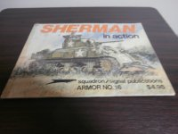 SHERMAN in action (洋書)